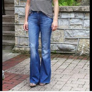Madewell Flea Market Flare Jeans in sz 24